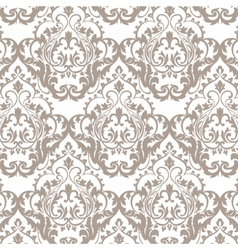 Vintage classic rococo floral ornament damask vector