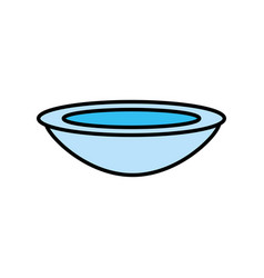 Bowl dish kitchen cook vector