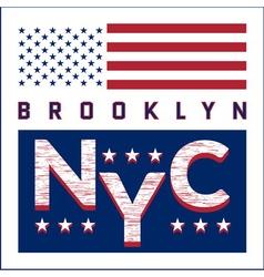 T-shirt ny city vector