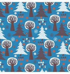 christmas wallpaper vector image