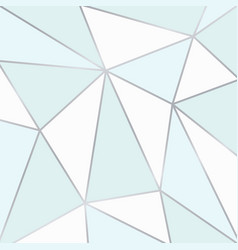 Blue and white polygonal background vector