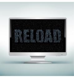 Monitor code reload vector