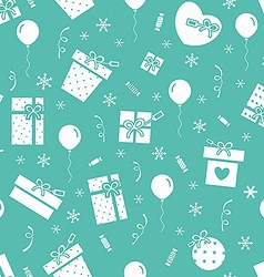 New year party pattern 2 vector