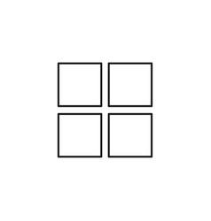 Option icon vector