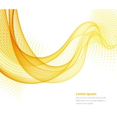 smooth abstract waves vector image
