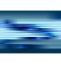 Tech blue blurred stripes abstract background vector