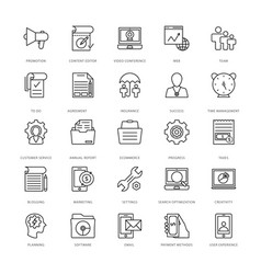 Web design and development icons 17 vector