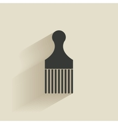 Abstract barber object vector image