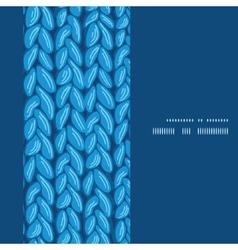 Knit sewater fabric horizontal texture vertical vector