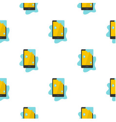 Wet phone pattern seamless vector