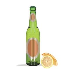 summer beer vector image
