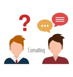 Business professional consulting vector