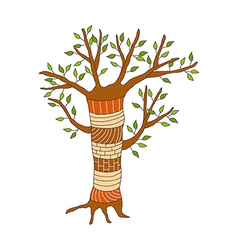A view of tree vector image