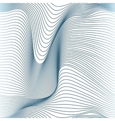 abstract wavy lines seamless vector image vector image