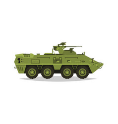 Armored infantry vehicle exploration inspection vector