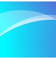 Blue light wave abstract background vector