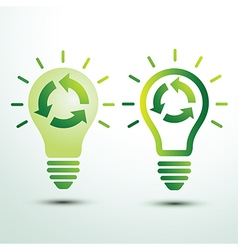 Recycle idea vector