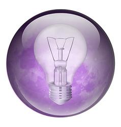 Incandescent light bulb vector