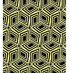 3d boxes seamless pattern vector image vector image