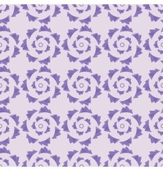 geometric seamless ornament lavender palette vector image