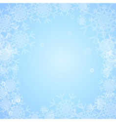 Backgrounds snowflakes vector