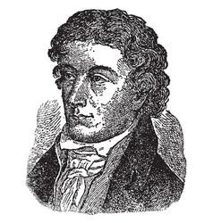 John keats vintage vector
