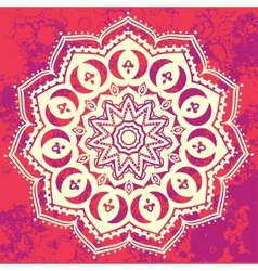 Ornament beautiful card vector image vector image
