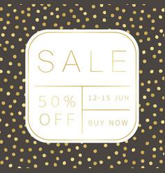 Stylish sale banner design vector