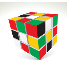 Rubiks Cube vector image