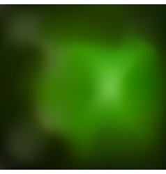 Magic green blurred abstract background vector