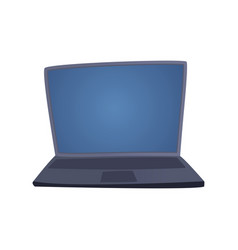 computer technology isolated display vector image