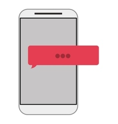 Cellphone cellphone with five buttons vector
