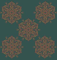 Mandala Ornamental Design Pattern vector image