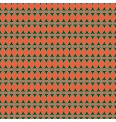 Oval and triangle seamless pattern 1406 vector image
