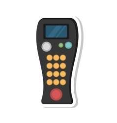 remote control device isolated icon vector image