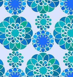 Seamless pattern ornament vector image