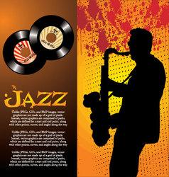 Retro Music Background vector image