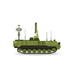 Air defense control system broadcasting vector