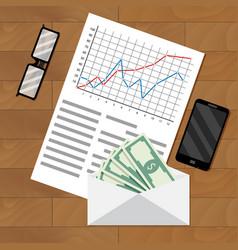 Analysis of payroll salary vector