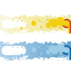 Banner background vector