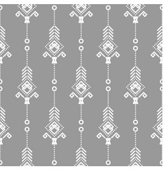 Bohemian seamless pattern vector