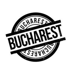 Bucharest rubber stamp vector