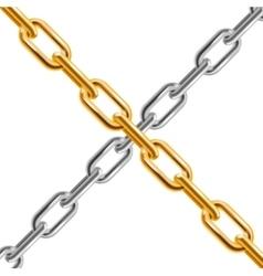 Chain cross vector