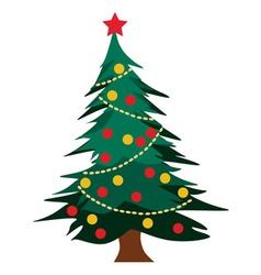 Christmas tree graphics vector
