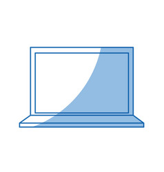 Laptop technology information science device vector