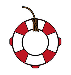 lifesaver icon image vector image
