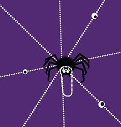 Halloween Spyder vector image