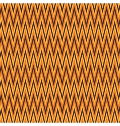 Zigzag abstract orange wrapping pattern vector