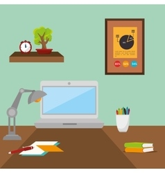 Office and business people vector image vector image