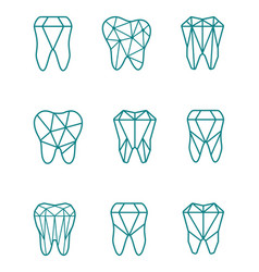 Tooth symbol set vector